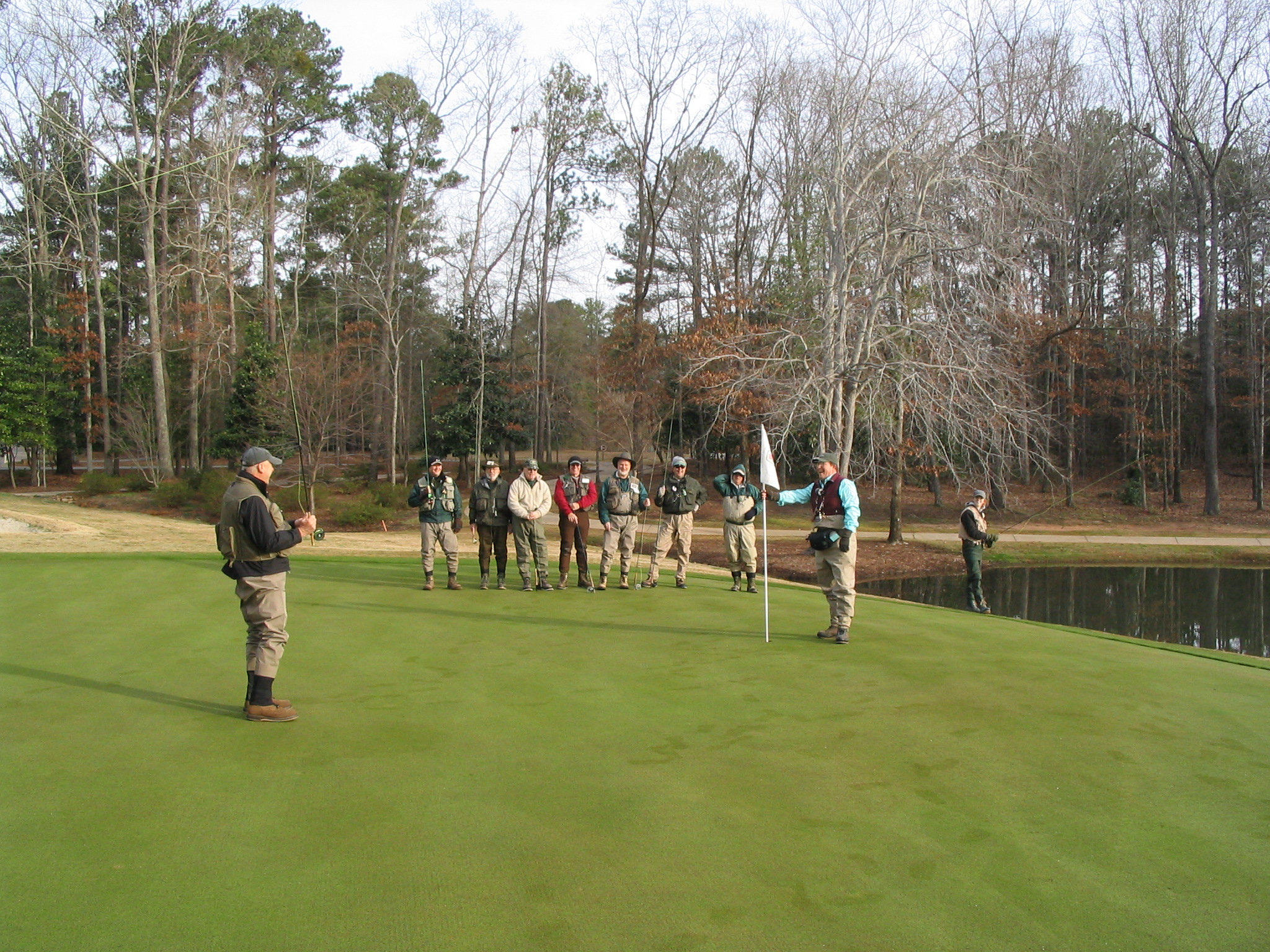 Flint river chapter of trout unlimited peachtree city for Callaway gardens fishing